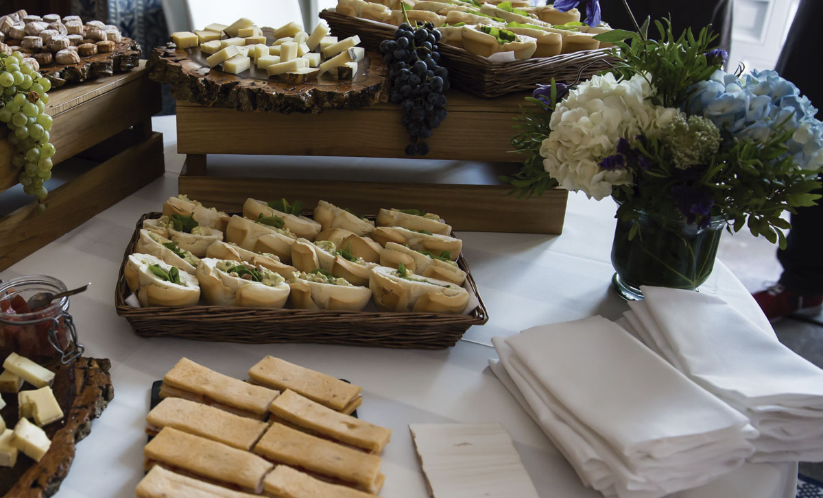 Finger food para eventos empresas