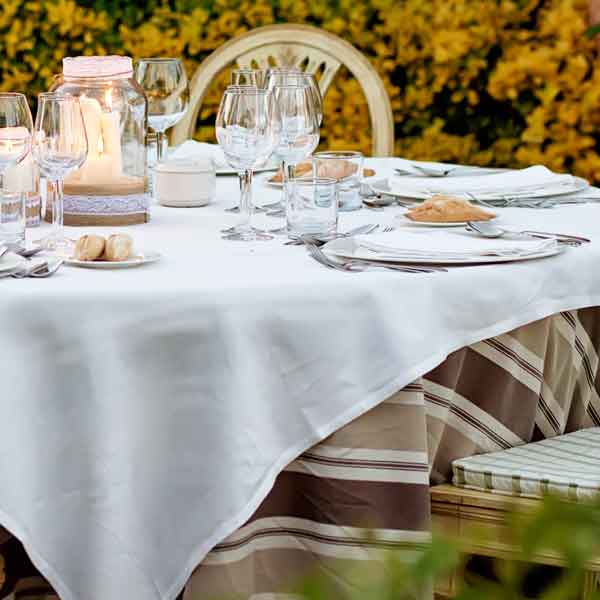 montaje de mesa otoño