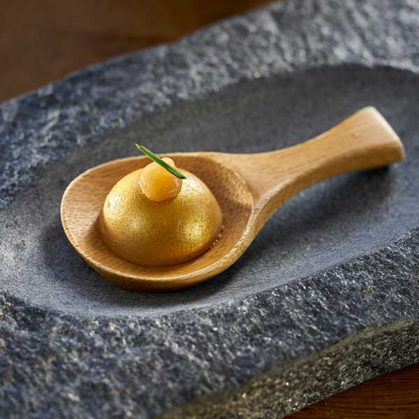 bombón de foie