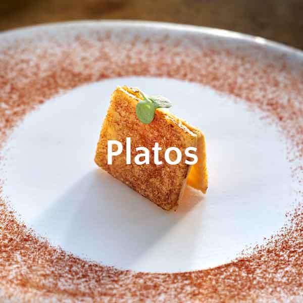 platos especiales para eventos