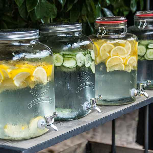 Agua con aromas